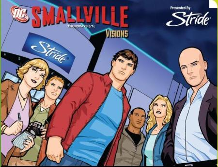 Smallville Visions Cover