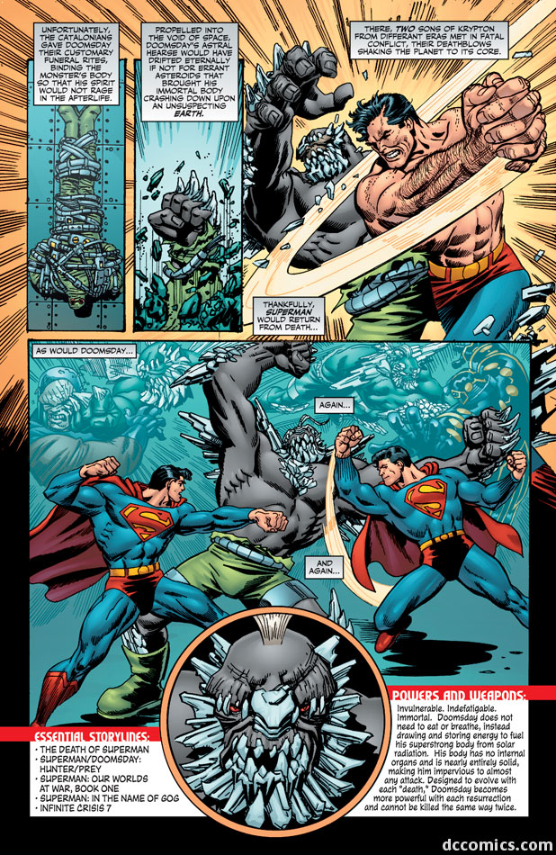 who is doomsday he�s coming to smallville maybe� osck