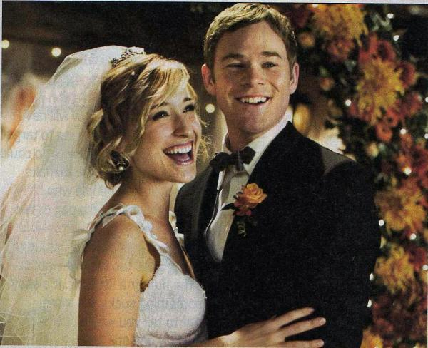Jimmy and Chloe in Smallville episode 8.10 Bride