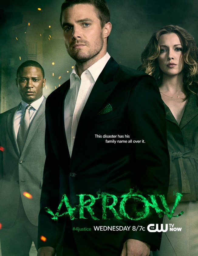 arrow may sweeps season 1 poster osck dc comics tv movie news blog. Black Bedroom Furniture Sets. Home Design Ideas